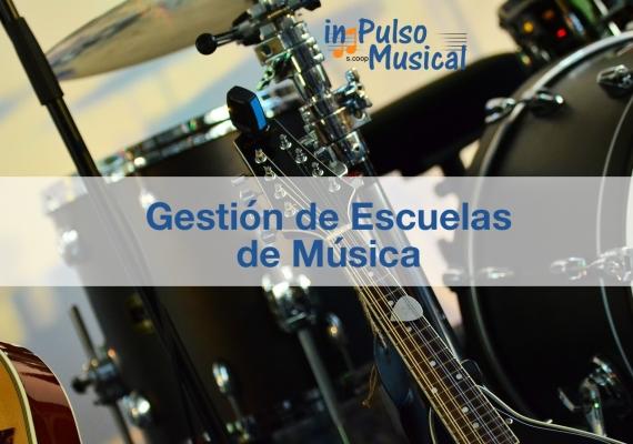 gestión de escuelas de música