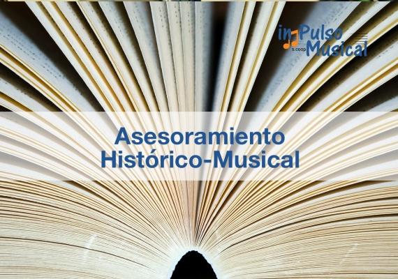 Asesoramiento histórico musical