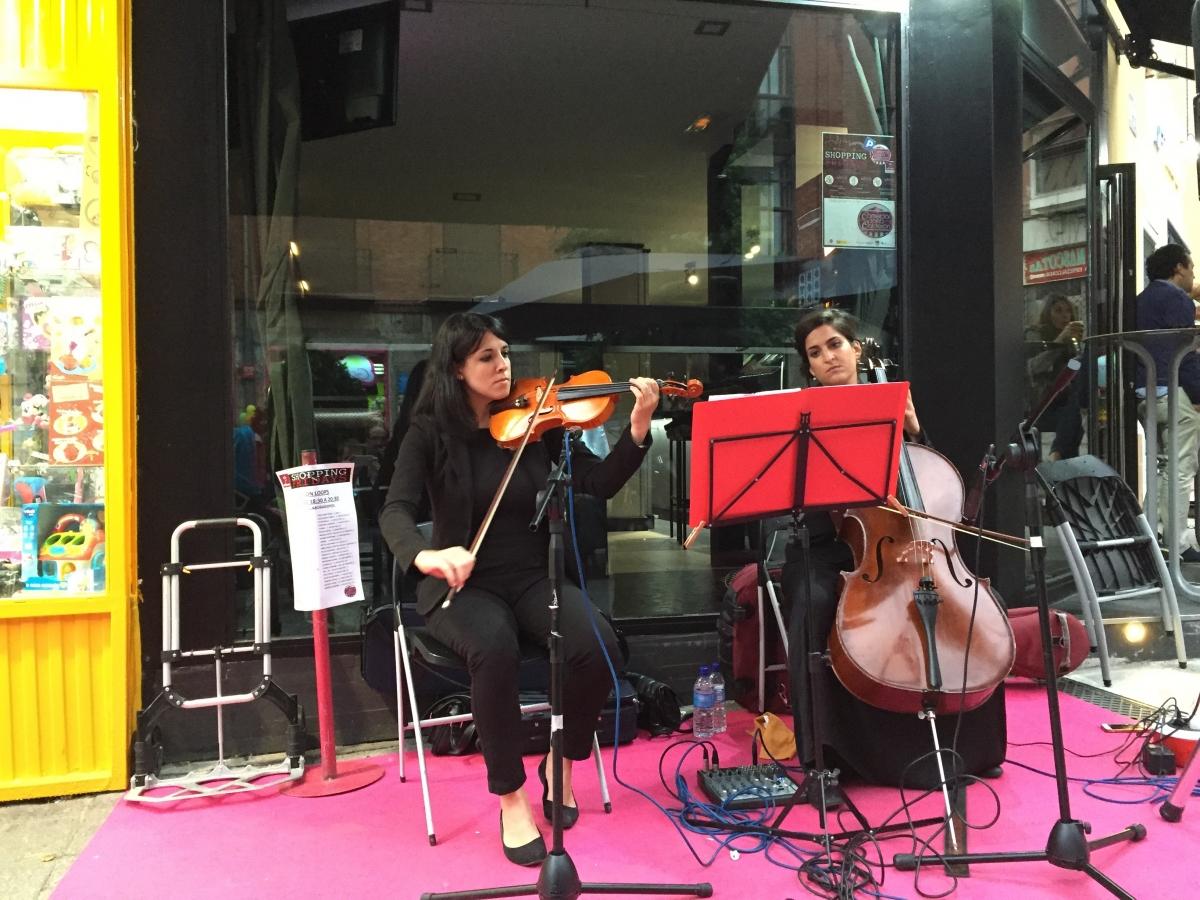 In Pulso Musical pone música en la Shopping Music organizada por Fecosva