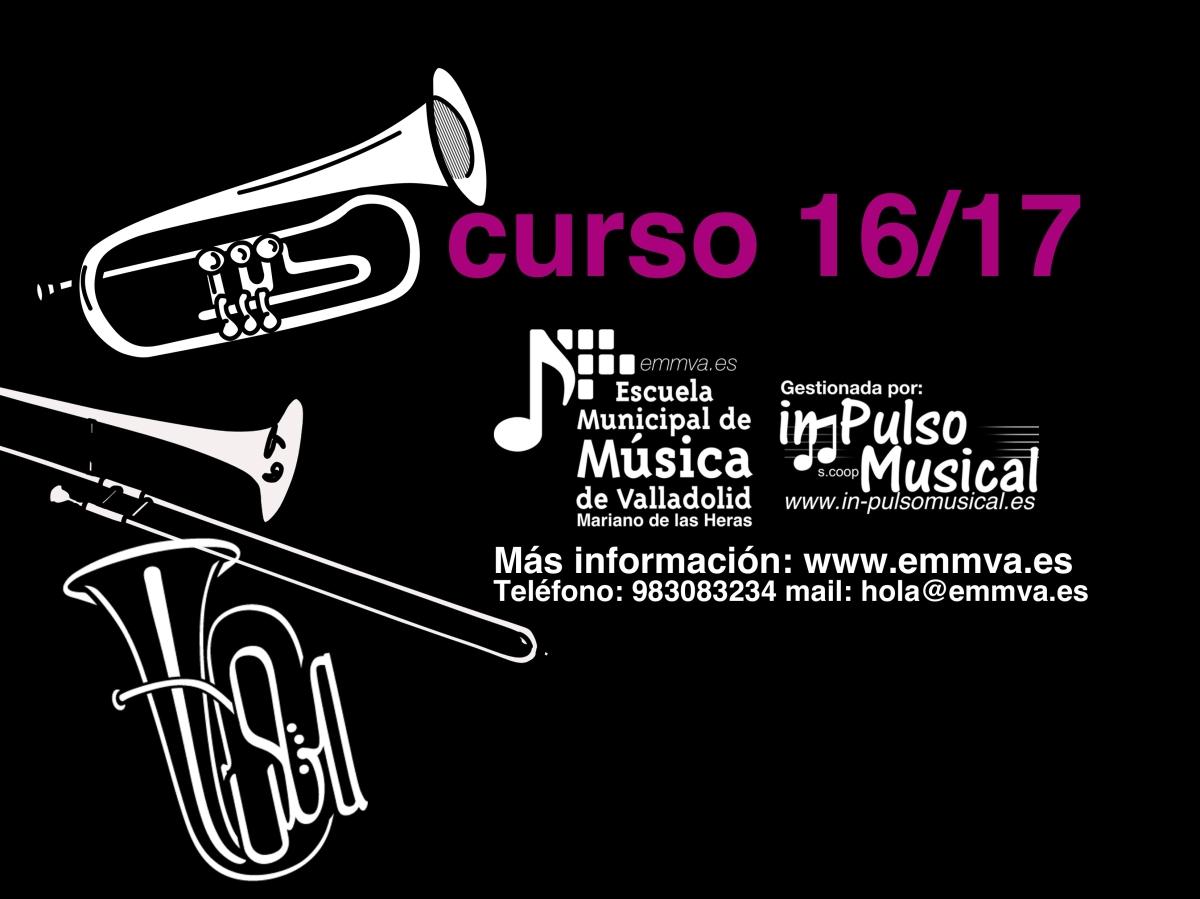 datos-matricula- Escuela Municipal de Música de Valladolid -In Pulso Musical
