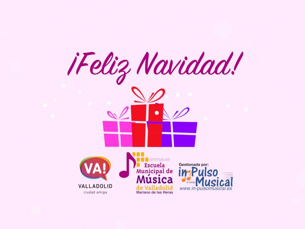 felicitacion-de-navidad Escuela Municipal de Música de Valladolid