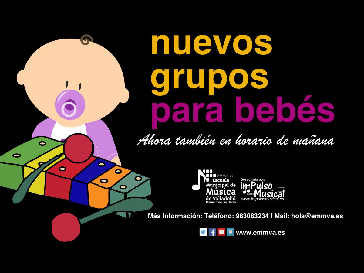 nuevos grupos para bebes escuela municipal de música de valladolid