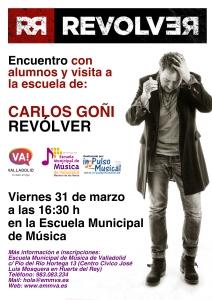 Visita Revolver a la Escuela Municipal de Música de Valladolid