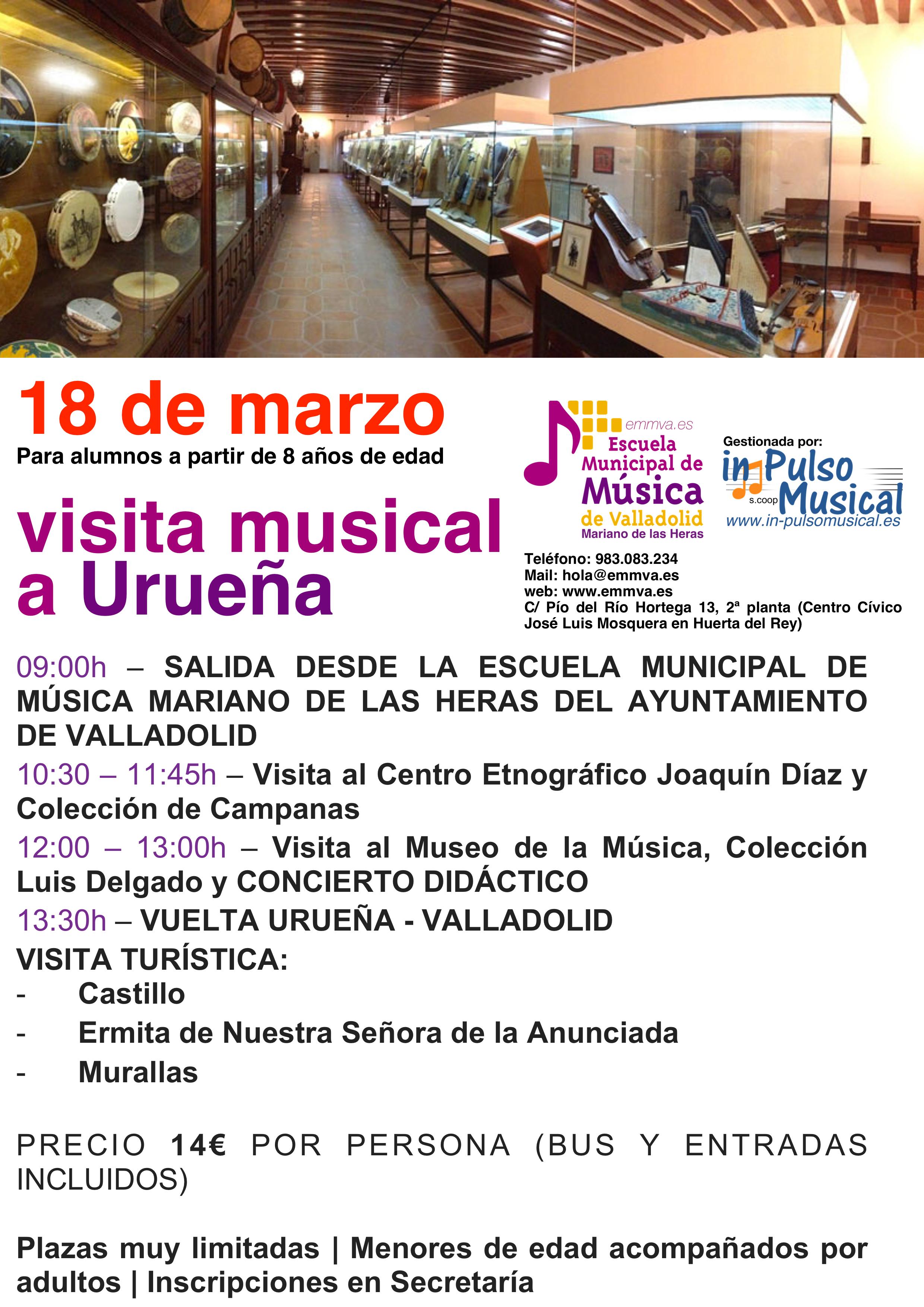 visita musical urueña escuela municipal de música de valladolid